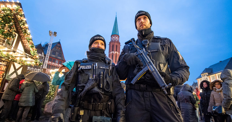 Heavily-armed soldiers, violence, sky-high prices, a Santa Claus gender war & no mention of the Nativity… Merry Christmas, Europe!