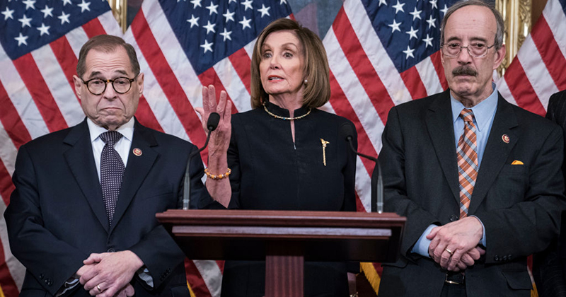 Demented Dems Declare Impeachment Is On Par With Revolutionary War, Fight Against Slavery and Battle Against Nazis