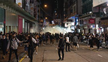 Hong Kong Protests Intensify During Christmas Week