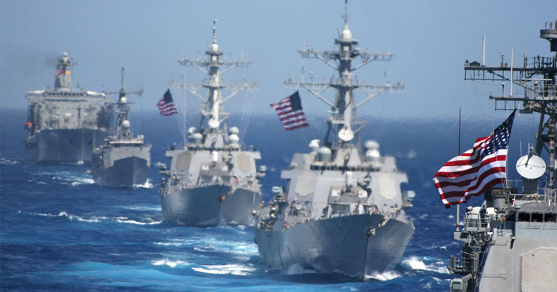 Pentagon Warns Vessels to Not Approach US Ships
