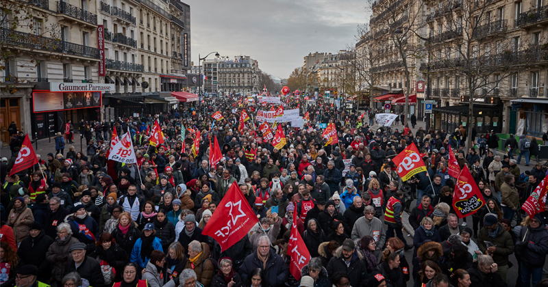 Over 800,000 March Against Macron