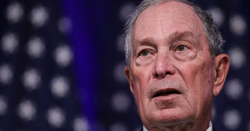 Self-Declared Climate Change 'Global Leader' Mike Bloomberg Enjoys His Own Fleet of Private Jets, Helicopters