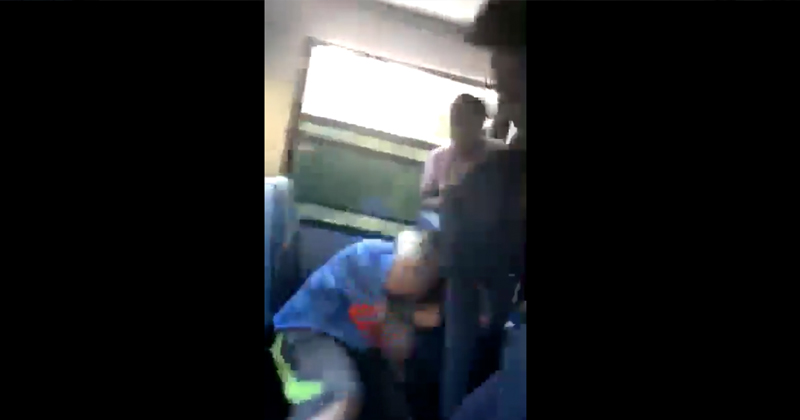 Shock Video: Black Teens Pummel White Student Over Trump Hat