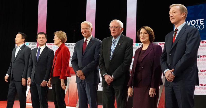Watch Live: Democrats Host Presidential Debate - And No One Tunes in!