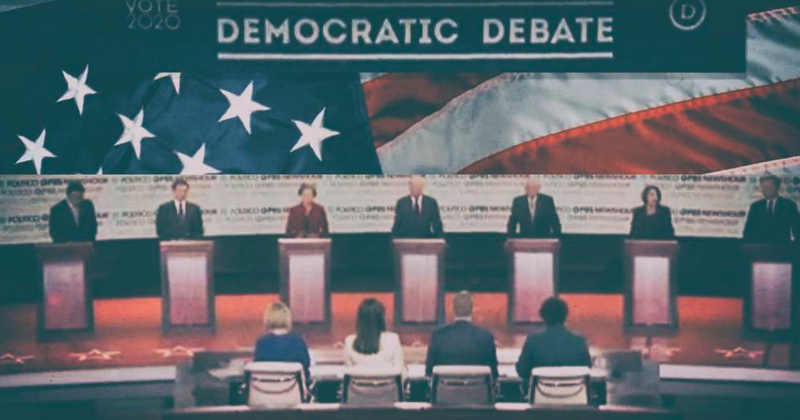 Democratic Debate Wages War On Americans
