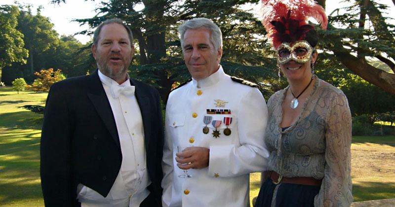 Photo Shows Harvey Weinstein Partying Together With Jeffrey Epstein & Ghislaine Maxwell