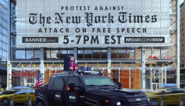 Watch Live: Protest Against New York Times' Attack on Free Speech