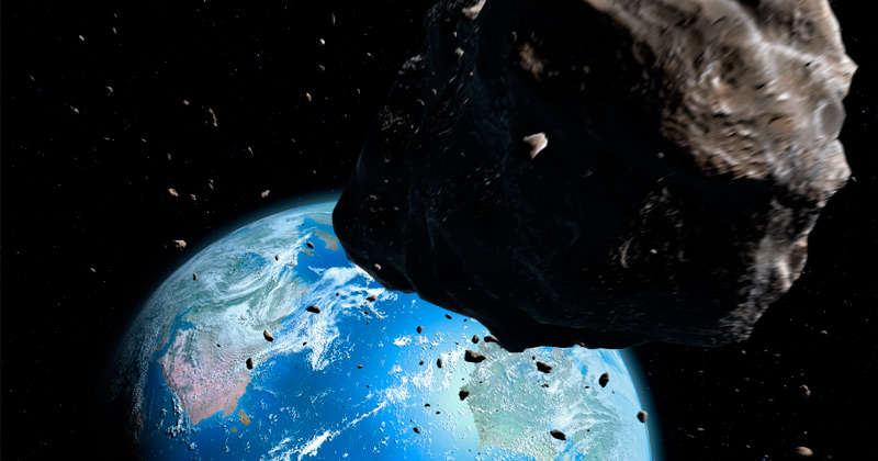 Cutting it close: NASA just detected two asteroids headed towards the Earth… with two more right behind