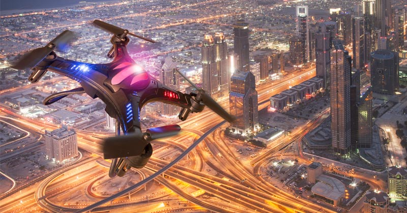 """Feds Developing """"Swarm"""" of 5G Surveillance Drones"""