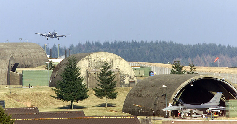 Two US Airmen Found Dead in German Base Dormitory Room