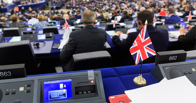 EU Removes National Flags From European Parliament, Farage Says