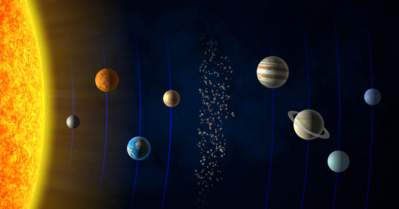 How the solar system got its 'Great Divide,' and why it matters for life on Earth