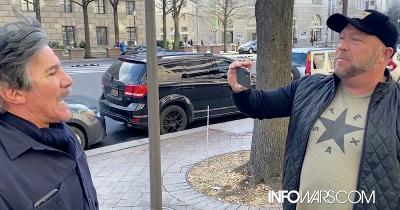 Alex Jones Meets Geraldo Rivera In DC: Geraldo Says Alex Has Been Demonized