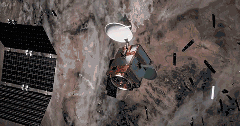 Fears mount that two old satellites will SMASH into each other above US this week