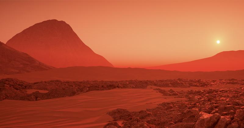 Mystery at Mars pole explained