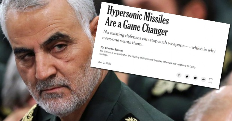 New York Times Published Story About Hypothetical Military Attack on Suleimani in Baghdad Hours Before Strike