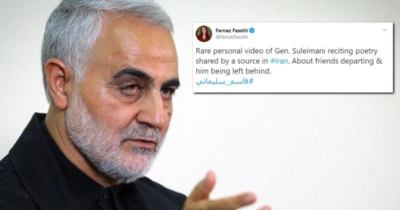 "New York Times Journalist Offers ""Eulogy"" to Killed Iranian Terrorist Leader"