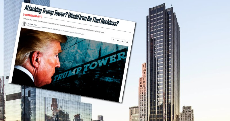 "Daily Beast Posts Weird Article Fantasizing About Iranian Attack on President's ""Beloved"" Trump Tower"