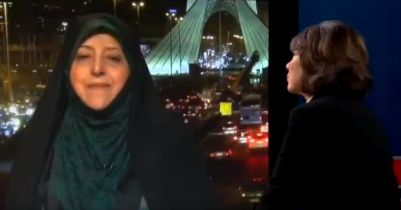 CNN Gives Platform to Iranian Who Once Said She'd Shoot U.S. Hostages in the Head
