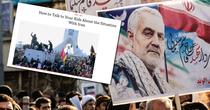 Time Magazine Offers Guide on How Parents Can Brainwash Their Kids on Iran