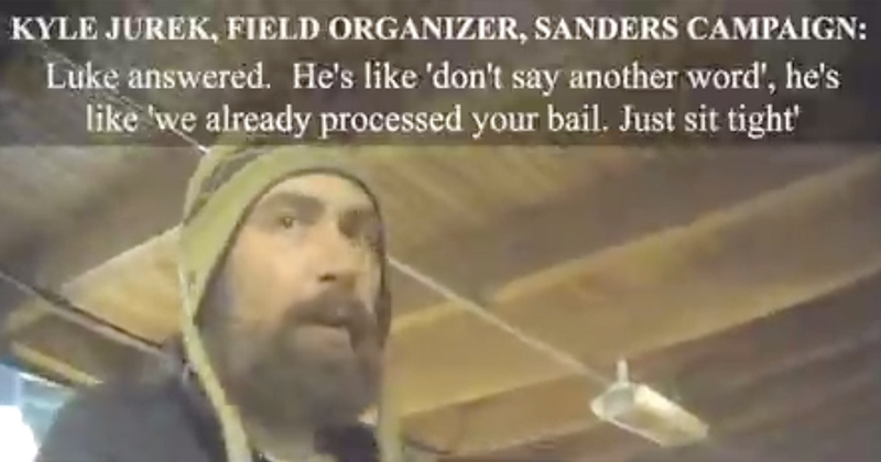 Campaign Funds Used to Bail Out Bernie Sanders Field Director After Drug Arrest?