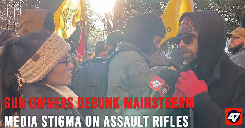Gun Owners Debunk Mainstream Media Stigma On Assault Rifles