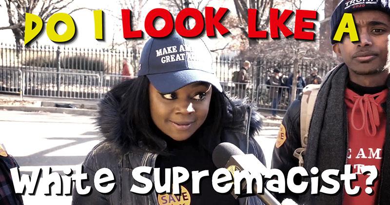 Do I Look Like a White Supremacist?