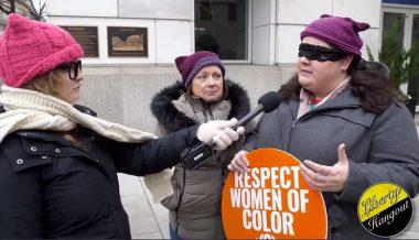Watch: Kaitlin Bennett Invades Women's March