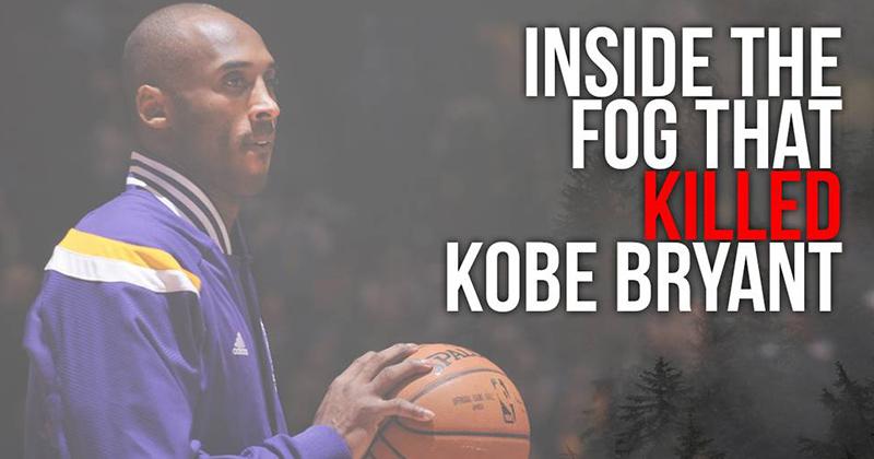 Inside The Fog That Killed Kobe Bryant