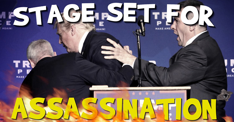 Video Report: Warning! Stage Set For Trump Assassination