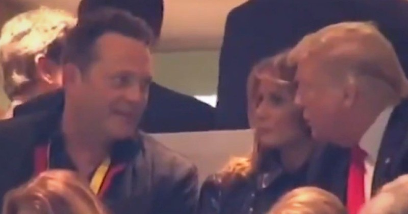 Leftists Freak Out Over Video Showing Vince Vaughn Talking to President Trump