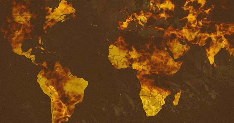 Climate Change Or Arson Jihad?