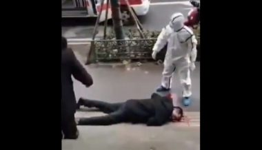 Video Purports to Show Coronavirus Victim Collapsed on the Street in Wuhan