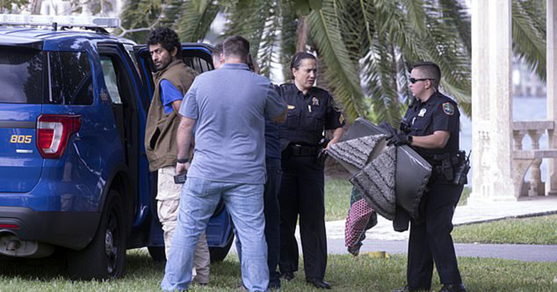 Iranian national armed with a machete, ax and knives is arrested four miles from Mar-a-Lago
