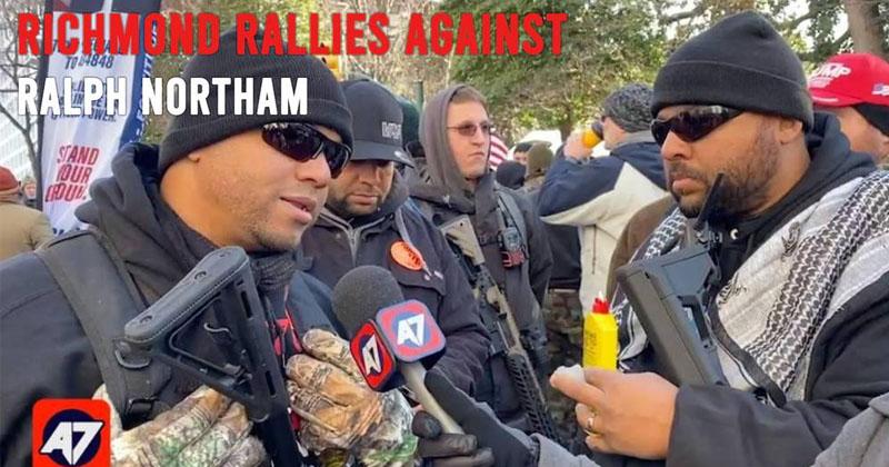 Richmond Rallies Against Ralph Northam