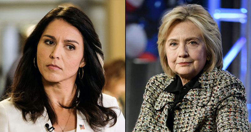 Tulsi Gabbard Sues Hillary Clinton For Defamation Over 'Russian Asset' Remarks