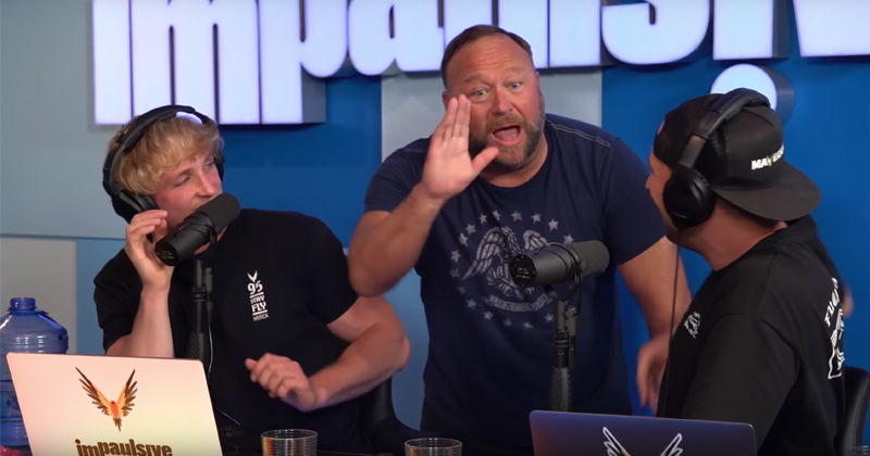 "Flashback 2019: Alex Jones Reveals Battle Plan to Defeat Globalism on Logan Paul's ""Impaulsive"" Podcast"
