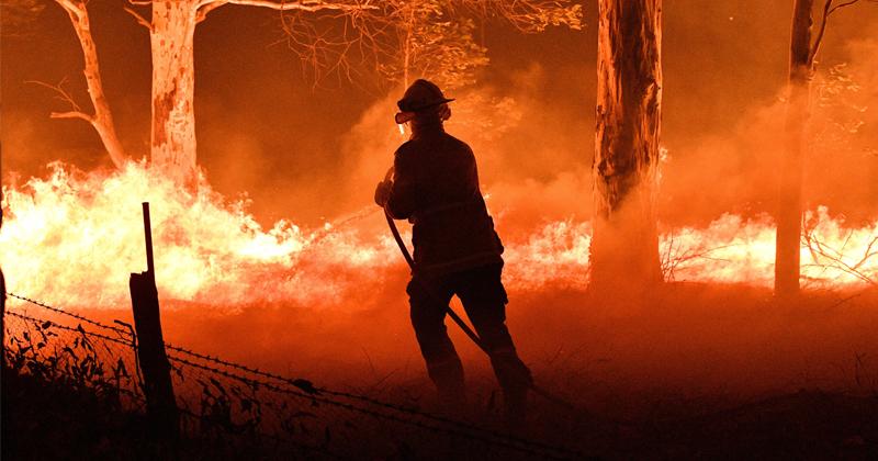 Thousands Stranded on Beach Encircled By Flames as Bushfires Rip Through Australia