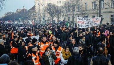 French Trade Unions Block Ports Over Pension Reform