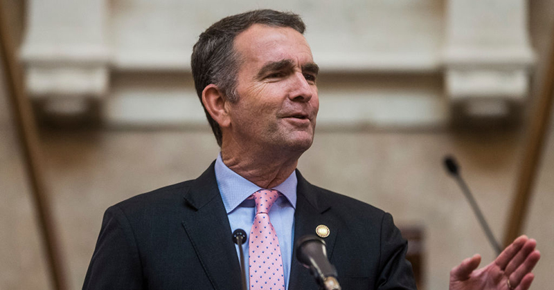 Gov. Ralph Northam Suggests He Saved Virginia from a Volatile Situation