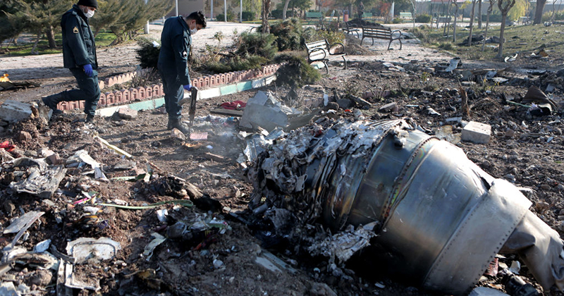 Iran Changes Plane Crash Story As Ukrainian Theories Include Possible Missile Strike