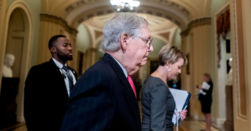 McConnell says GOP doesn't have votes yet to block impeachment witnesses