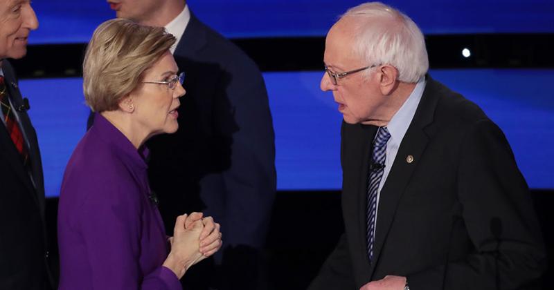 Revealed: Bernie Sanders Pays Female Staffers More than Elizabeth Warren
