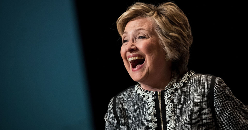 Hillary Tweets 'No One Is Above the Law' Then Refuses To Accept Lawsuit Against Her