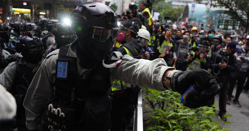 Hong Kong Protesters Fear Police Infected Seized Phones With Spyware