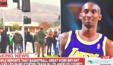 VIDEO: MSNBC Reporter Accidentally Drops N-Bomb While Reporting Kobe Bryant's Death