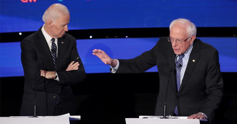 Race Between Biden & Sanders Heats Up While Warren & Pete Have Peaked - Insider