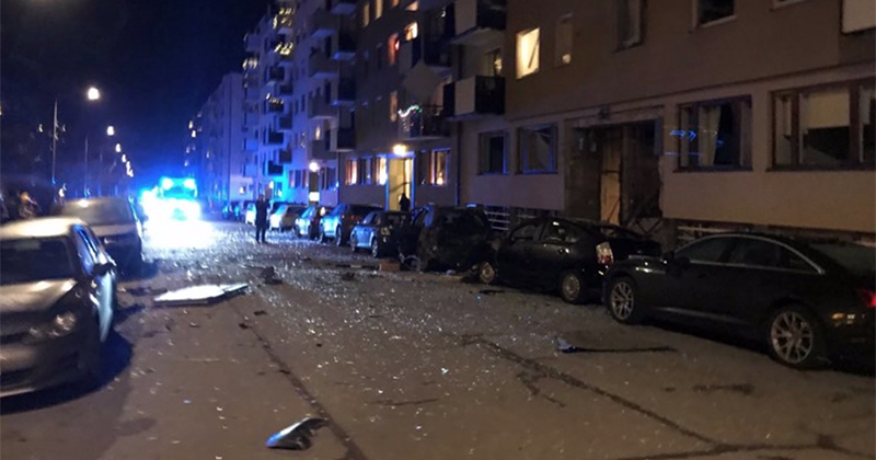 Blast rattles central Stockholm, another explosion reported in Uppsala shortly afterwards (PHOTOS)