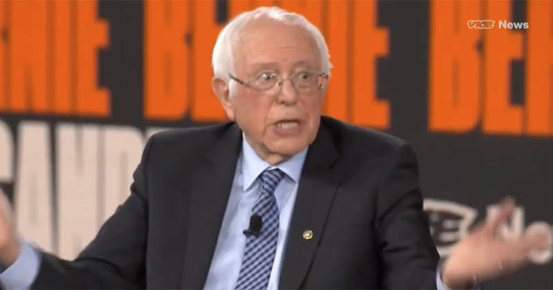 Sanders Says He Will Consider Tearing Down EXISTING Border Wall