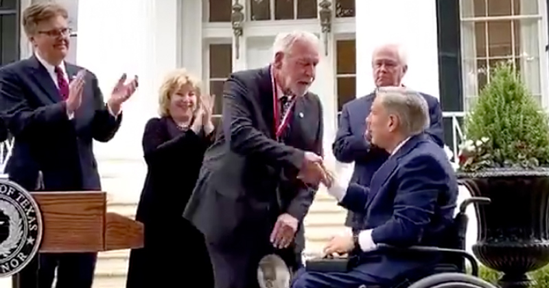 Video: Man Who Stopped Church Shooter Receives Medal of Courage